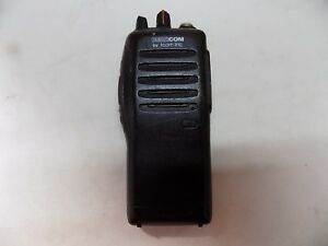 Icom Bearcom Ic f21 Uhf 16 Channel Portable Two way Radio for Parts Only