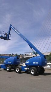 Upright Sb60 Aerial Boomlift 4wd Manlift