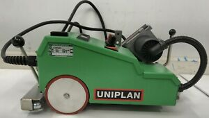 Leister Uniplan E Automatic Hot Air Welder Excellent Condition Attachments
