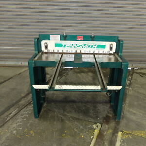 37 Tennsmith Foot Operated Squaring Shear Model T 36 Excellent