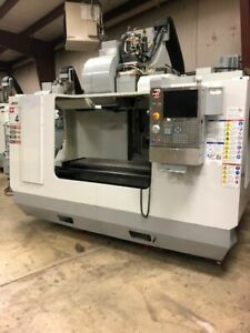 Haas Vf4b Vertical Cnc Milling Machine With 10 000 Rpm High Torqued Gearbox