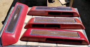 1964 1965 Lincoln Continental Interior Door Armrest With Wood Grain Plate