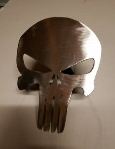 Punisher Skull Receiver Hitch Cover Steel Reese Towing Tow Boat