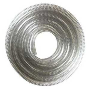 E James 1530 500687 Suction And Transfer Hose 25 Ft clear