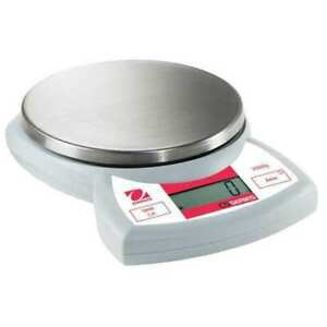 Ohaus Cs200p Digital Compact Bench Scale 0 44 Lb 0 2kg Capacity 7 5 8 X