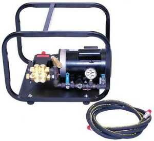 Wheeler rex 33100 Test Pump Electric twin Piston 1 Hp