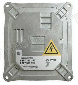 Replacement Al Bosch Hid Ballast 130732915301 For Mini Bmw Part 63117182520