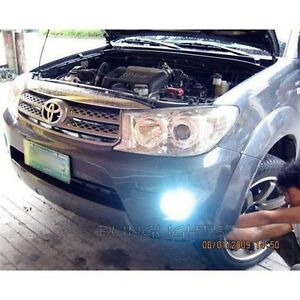 2009 2010 2011 2012 Toyota Fortuner Halo Fog Lamp Angel Eye Driving Light Kit