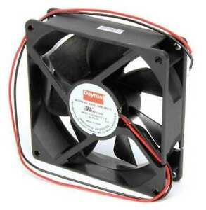 Dayton 6kd73 Axial Fan Square 24vdc Phase 48 Cfm 3 5 8 W