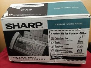 Sharp Ux p100 Plain Paper Fax Machine