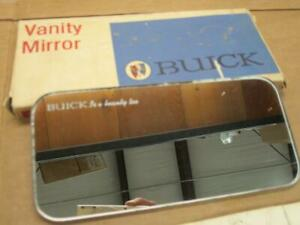 Vintage Buick Nos Vanity Mirror Buick Is A Beauty Too Script Gm 981521