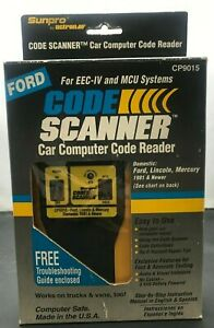Actron Cp 9015 Code Scanner For Ford Lincoln Mercury 1981 Newer Eec Iv Mcu