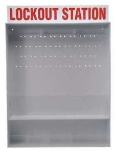 Brady 50993 Lockout Station unfilled 30 In H