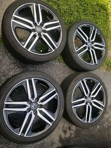 19 Honda Accord Sport Oem Wheels Rims 2016 2017 2018 2019