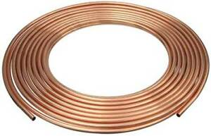 Mueller Industries D 18050p 1 1 8 Od X 50 Ft Coil Copper Tubing Type Acr
