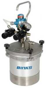 Binks 80 651 Pressure Spray Gun Cup 2 Qt