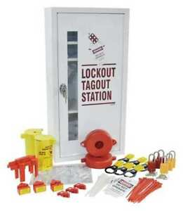 Brady Lc518e Lockout Station electrical valve white