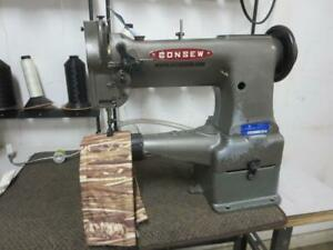 Rebuilt Consew 227 Single Needle Cylinder Arm Walking Foot No Reverse Head Only
