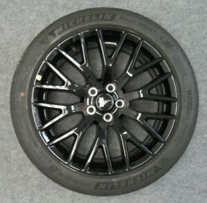 New Takeoff 2015 2019 Original Ford Mustang Black 19 Front Wheel And Tire