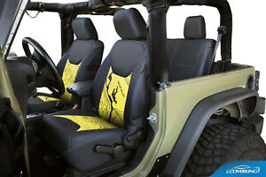 Coverking Moab Topographic Custom Tailored Seat Covers For Jeep Wrangler Jk Jku