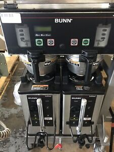 Bunn Coffee Brewer 33500 0013 Dual Softheat Dbc 120 208v With Softheat Servers