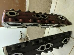 Sbc Pair Of Rebuilt 3890462 Small Block Chevy Cylinder Heads Camel Back Ss Hp