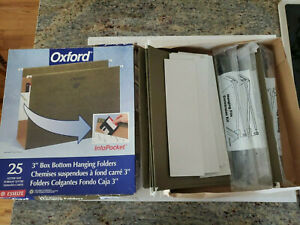 Large Lot Of Office Supply Folders Manila And Hanging Smead Oxford Etc