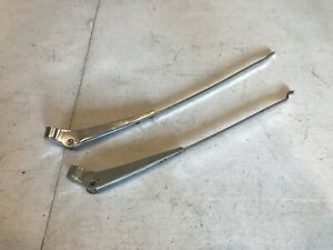 55 56 57 Chevy Tri5 Trico Front Windshield Wiper Arms Pair Tri 5 210 150 Used