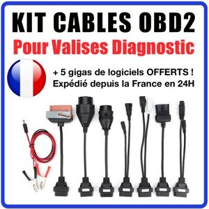 Adapters Suitcase Bias Obd2 Compatible With Bmw Mercedes Vag Psa Opel