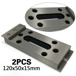 2 Pcs Wire Edm Fixture Board Jig Tool For Clamping And Leveling Stainless Steel