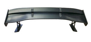 Universal 61 Black Voltex 3 Style Car Trunk Rear Gt Wing Boot Spoiler Plastic
