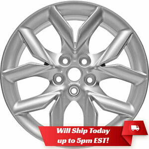 New 19 Replacement Alloy Wheel Rim For 2014 2019 Chevy Impala Silver 5711