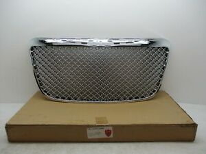 2011 2012 Chrysler 300 Aftermarket Chrome Grille Grill Mesh Bentley Style 299519