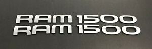 2002 2008 Dodge Ram 1500 Side Door Letter Chrome Emblem Badge Logo Script Oem