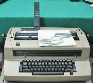 Ibm Selectric Iii Correcting Typewriter In Tan New Ribbon Refurbished 279