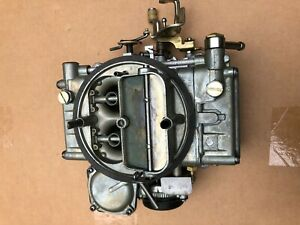 Holley 4 Barrel Carburetor List 6946 D5te 9510 Ga 1973 74 Ford Truck