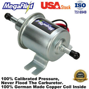 Electric Fuel Pump Hep 02a Low Pressure 12v For Agricultural Atv 2 5 4psi Usa