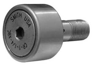 Smith Bearing Cr 1 3 4 xbec Cam Follower crowned stud hex Socket