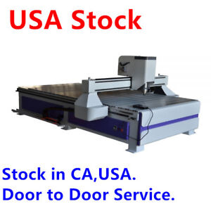 Usa 51 X 98 1325 Ad And Woodworking Cnc Router Machine With 3kw Spindle 220v
