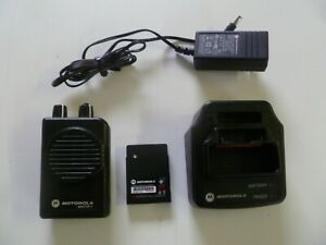 Motorola Minitor V Stored Voice 151 158 9 Mhz Vhf Two Channel Fire Ems Pager