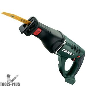 Metabo 602269850 Ltx 18v Cordless Reciprocating Saw tool Only New