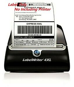 20 Rolls 4x6 Thermal Shipping Label 220 Per Roll Compatible Dymo 4xl 1744907