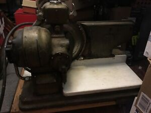 Commercial Hobart Vintage Deli Meat cheese Slicer Very Nice working Troy Oh