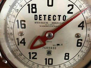 Vintage Detecto Huckster 383 S Hardware Scale Store Counter Display Double Faced