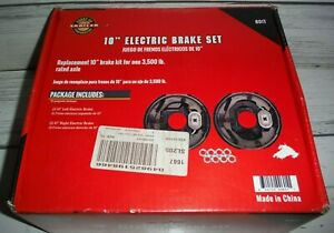 601t Carry On Electric Trailer Brake Set Kit 10