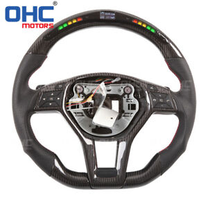 Led Steering Wheel For Mercedes Benz X204 C117 X117 W218 R231 Gla Glk Cla Cls Sl
