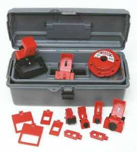 Brady 99305 Portable Lockout Kit gray electrical 14