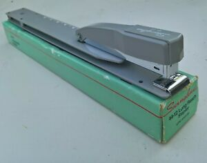 Vintage 44 12 Swingline Stapler Long Reach Brochure Booklet Report Binding Usa
