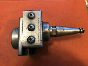 Criterion Model 3 Adjustable Boring Head With Moore Jig Bore Taper Shank
