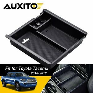 For Toyota Tacoma 2016 2019 Accessories Box Center Console Organizer Holder Abs